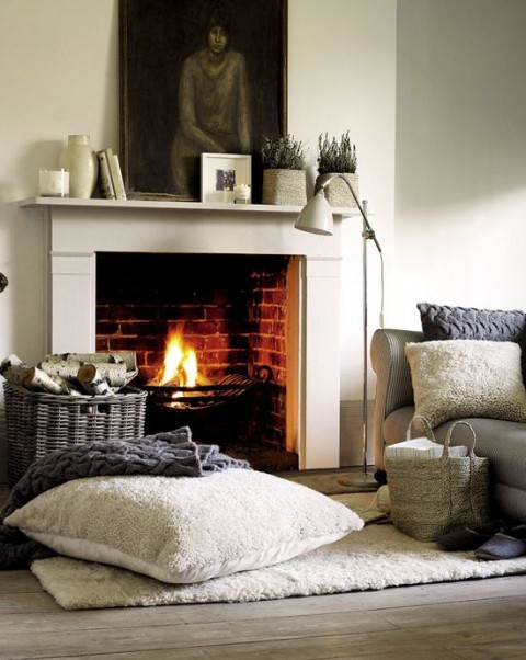 Ingenious Ways to Improve Your Home - Open Fire