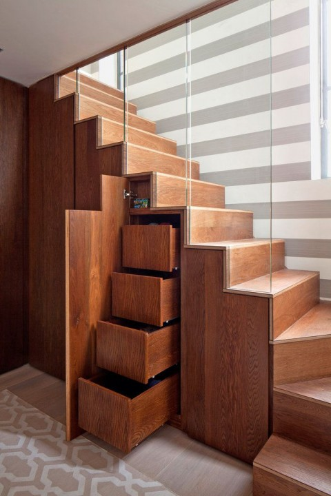 Can You Really Make More Space In Your House On A Budget? - Stairs Storage