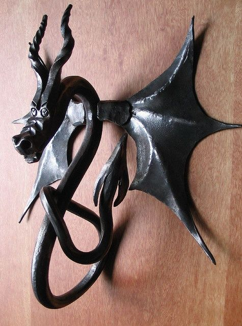 How To Make Your Own Decorative Ornaments  - Dragon Door Knocker