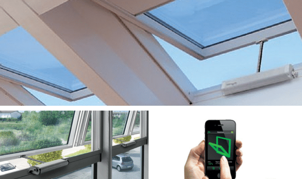 Hi-Tech Windows For The Modern Home - Automatic Climate Sensors