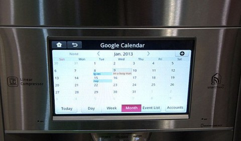 Brilliant Ways To Make Your Home Look And Feel Futuristic - smart Fridge