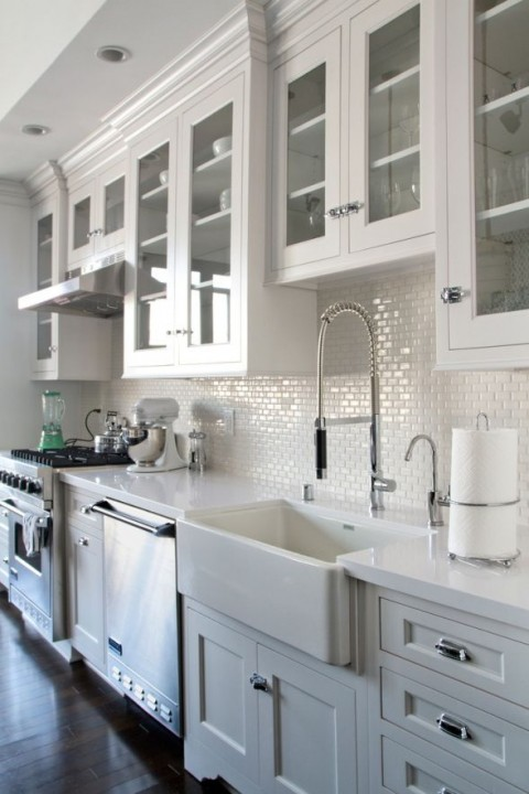 Top 5 Materials For Kitchen Work Surfaces -