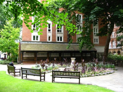Top Open Spaces In The Smoke -  Postman's Park