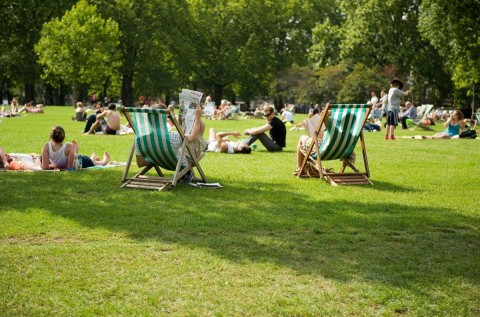 Top Open Spaces In The Smoke - The Green Park