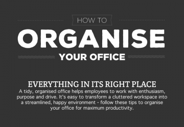 How To Organise Your Office [Infographic]