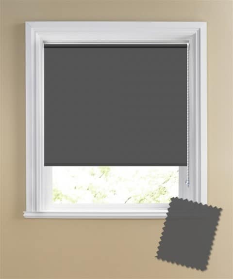 Grey (Zink) Coloured Blackout Roller Blinds Review