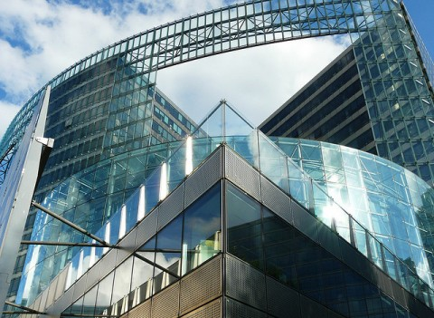 Three Astounding Examples Of Fine Glass Architecture - Charlemagne Building of the European Commission