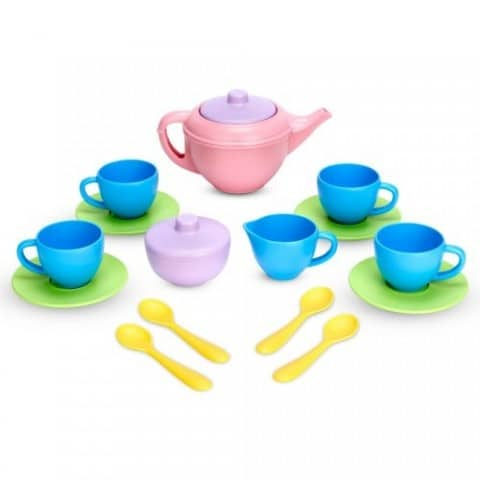 10 Children's Toys For The Conscientious Parent - Green Toys Recycled Tea Set