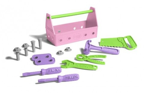 10 Children's Toys For The Conscientious Parent - Green Toys Recycled Pink Toll Set