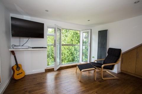 Juliet Balconies: The New Trend For London Loft Conversions - LMB French Windows Wallington