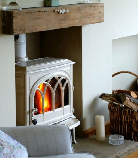 How To Make Your Country Home Look More Authentic - Wood Burning Stove