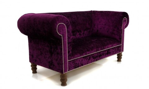 10 Stunning Sofas To Warm Up Your Home This Autumn - The Walpole Chesterfield In Rich Plum