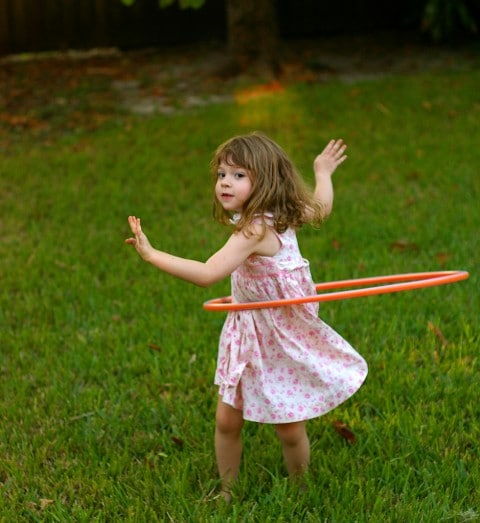 10 Fun Garden Toys - Hula Hoop