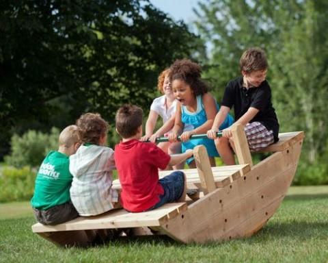 10 Fun Garden Toys - Rockopotamus