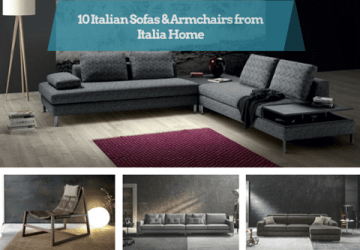 10 Italian Sofas & Armchairs from Italia Home