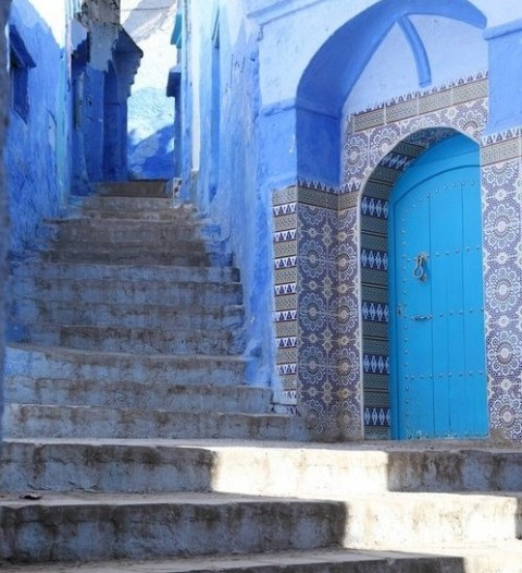 Daily Inspiration 27th October - Morocco Blue Door