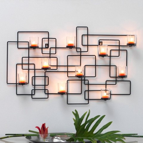 Finishing Touches For the Home - La Redoute Interieurs Abina Metal Wall-Mounted Candle Holder