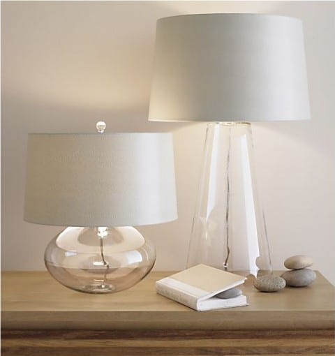 8 Lamps That Will Add Dramatic Style To Any Room - Table Lamps by Crate & Barrel