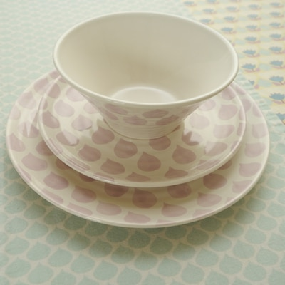 Eco Friendly Stylish Dinning Table Makeover - Duckydora 12 Piece Sienna Dinner Set