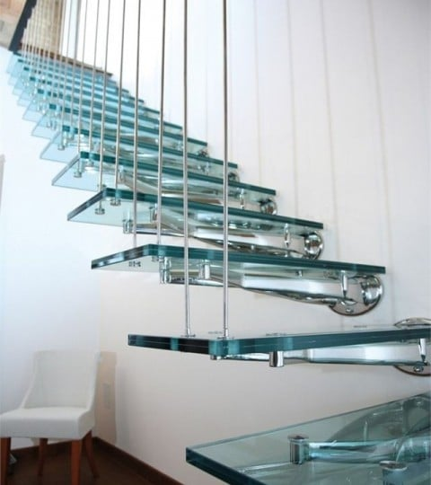 Glass Staircases – Just For The Show Home?