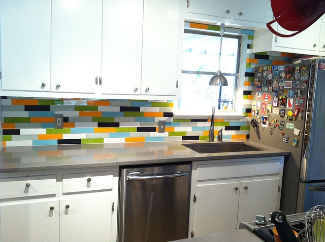 Getting Creative With Tiles In Your Home - Splashback