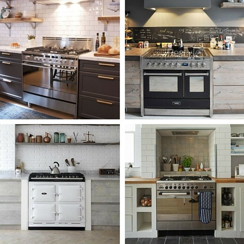 5 Most Desirable Kitchen Features - Range oven