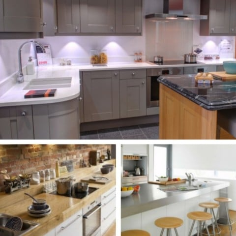 5 Most Desirable Kitchen Features - granite, hardwood & stainless steel worktops.