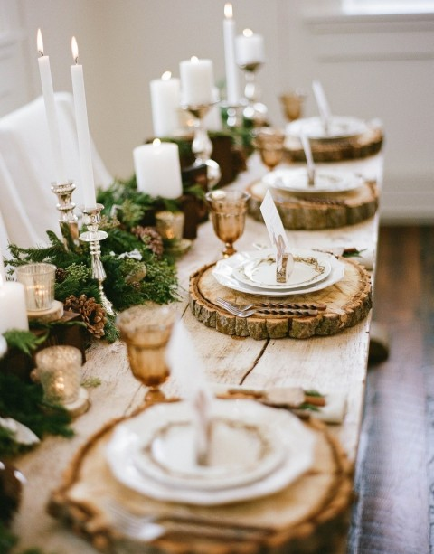 10 Stunning Dining Room Designs To Inspire You In Time For Christmas - Christmas Table Decorations