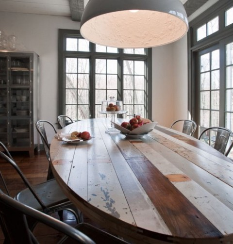 10 Stunning Dining Room Designs To Inspire You In Time For Christmas - Oval Dining Table