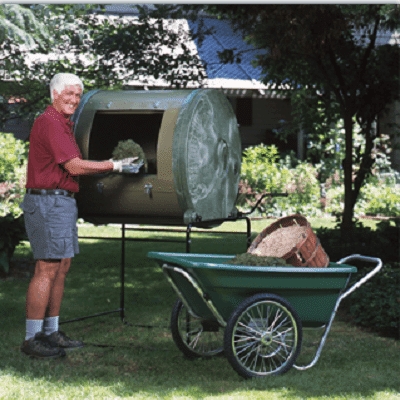 Growing Vegetables: Organic Gardening For Beginners - Compost Tumbler