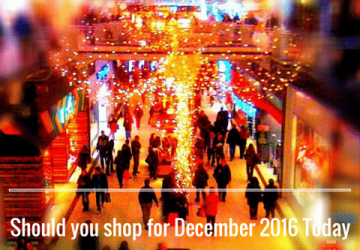 Should you shop for December 2016 Today