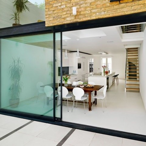6 Ways To Add Value To The Exterior Of Your Property - Glass Sliding Doors.