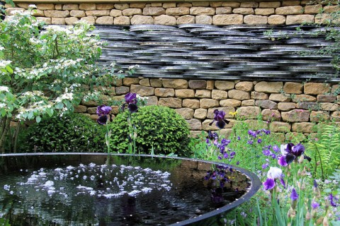5 Ways To Create A Relaxing Garden - RHS Chelsea Flower Show 2014. Image By Karen Roe
