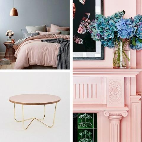 Interior Design Trends For 2016 - Pastel Pink Colour Rose Quartz
