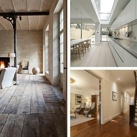 Interior Design Trends For 2016 - Wooden Flooring