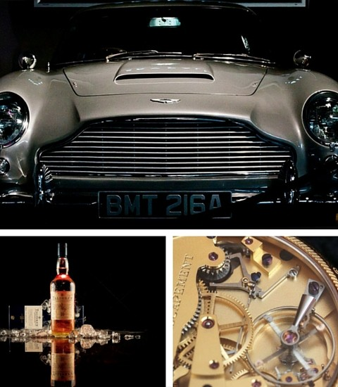 Gifts For The Quintessential British Gentleman - Aston Martin Car, Talisker Whisky, George Daniels & Roger W Smith Watch