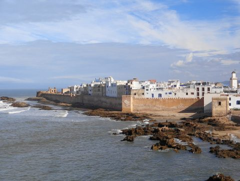 Dipping My Toes Into The World Of Digital Nomads - Essaouira Port