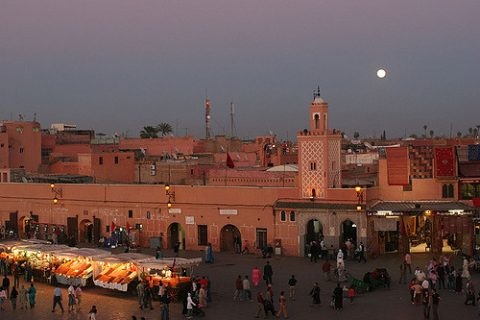 Dipping My Toes Into The World Of Digital Nomads - Marrakesh Medina