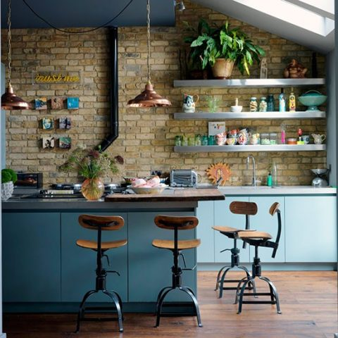Industrial Materials For Your Interior - Image From House To Home