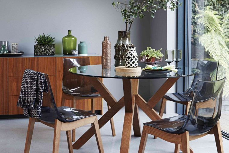 How To Obtain The Furniture Village Natural Woodland Style Within Your Home - Table & Chairs From Furniture Village