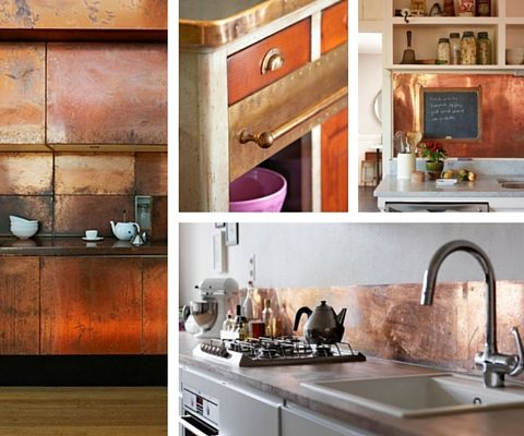 Industrial Materials For Your Interior - Copper In The Kitchen