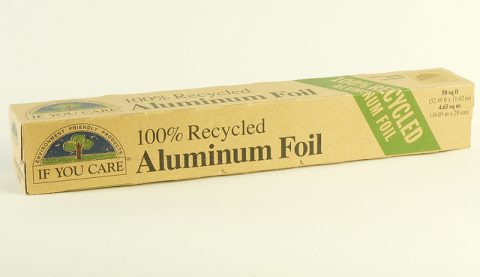 7 tips for running an energy efficient home - Aluminium Foil Used To Reflect Radiator Heat