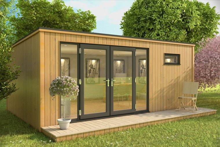 Garden Rooms Provide Extra Space For The Whole Family - Oeco Garden Rooms