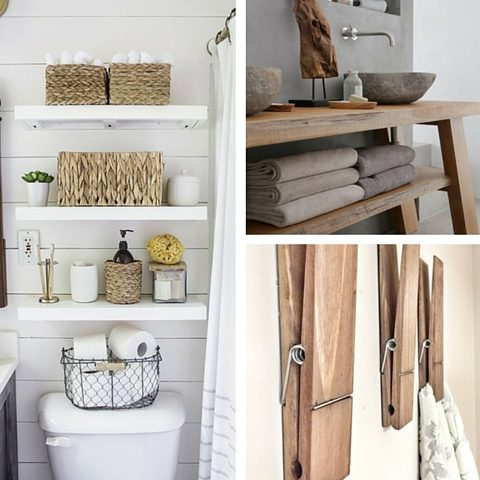 Tips For Remodelling Your Bathroom - Towel Storage