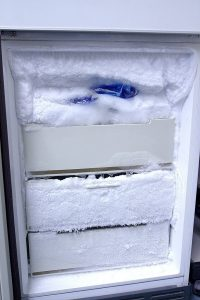 Defrost your freezer!