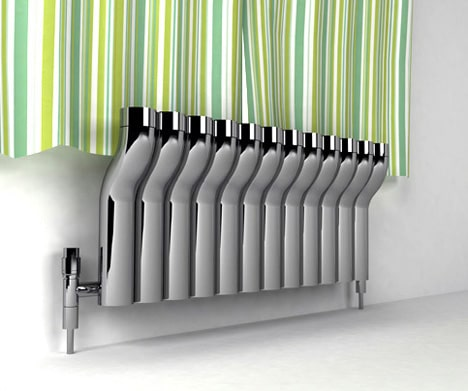Inspiration For Modernising Your Radiators At Home - Chrome Pipes