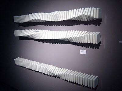 Inspiration For Modernising Your Radiators At Home - Ceramic Twist Radiator