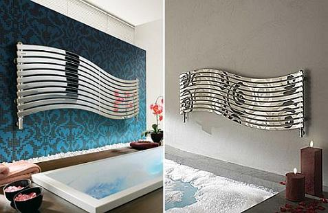 Inspiration For Modernising Your Radiators At Home - Bathroom Wave Radiator