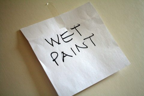 The Five Things You Must Do Before You Begin Painting - By Mrs TeePot