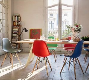 Why Scandinavian Design Is Having A Real Fashion Moment - DSW Chair By Vitra - Image From Scandium